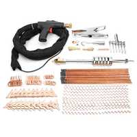 78Pcs Dent Puller Kit Car Body Spot Repair Tool Device Welder Stud Weld Welding Cabl