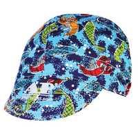 Adjustable Elastic Welding Welders Hat Cap Sweat Absorption Cotton Summer