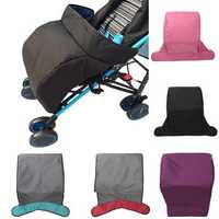 Baby Stroller Footmuff Children Windproof Thickening Solid color Stroller Footmuff