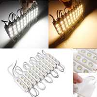 20pcs Molding Waterproof 3LED 5630 SMD Module Light White/Warm White