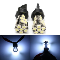 2pcs T20 Side Light Bulbs Lamps Canbus No Error W21 5W T20 6000K LED White Daytime DRL