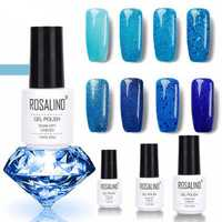 8Colors Blue Series Shimmer Glitter Nail Gel Soak-off UV Gel