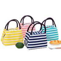 Oxford Cloth Lunch Bag New Portable Insulation Package Waterproof Printing Bag