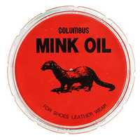 110g Mink Oil for Preserving and Waterproofing Smooth Leather Craft Boots Shoes Tool