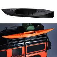 3D Printed Kayaking Model For 1/10 RC Crawler Car Traxxas TRX4 D90 D110 Axial Scx10 90046 90047 RC Car Parts Black