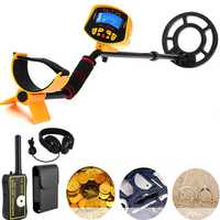 MD3010II Metal Detector Gold Deep Sensitive Searching Digger + TX-2002 Pinpointer Treasure Detector