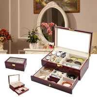 Jewelry Watch Box Eye Reading Myopia Sunglasses Storage Box