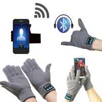 KALOAD Winter Warm Smart Touch Screen Bluetooth Wireless Hands Free Calls MP3 Play Gloves