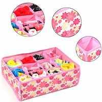 12 Cells Socks Underwear Drawer Closet Home Organizer Storage Box Case