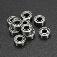 10pcs 683ZZ 3x7x3mm Ball Bearings Deep Groove Double Shielded Miniature Ball Bearing