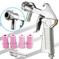 Sandblaster Air Siphon Feed Blast Nozzle Ceramic Tips Abrasive Sand Blasting