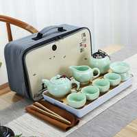Portable Travel Kung Fu Tea Set Handmade Chinese Porcelain Tea Cup