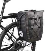 27L Full Waterproof Bag Motorcycle Camel Shelf Long-distance Saddlebags Cycling Travel Equipment
