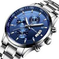 CRRJU 2214 Business Style Men Full Steel Quartz Watch