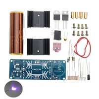 DIY Mini Music Tesla Coil Kit DC 15-24V 2A ZVS Plasma Horn Speaker Single Tube