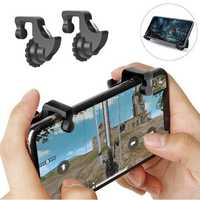 Bakeey Joystick Gamepad Controller Trigger Fire Button Assist Tool For PUBG Mobile Legends