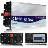 10000W Peak Modified Sine Wave Power Inverter DC 12-48V to AC 220V Converter + LCD
