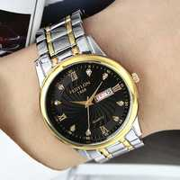 FEDYLON Men Fashion Week Day Display Quartz Watch