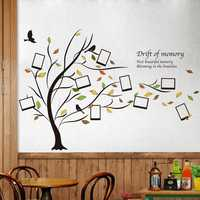 Honana DX-131 90X60CM Creative Photo Frame Tree wall Stickers Bedroom Home Decoration