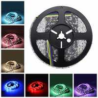 DC12V 5M RGB CCT 5050 5054 SMD Waterproof LED Strip String Light Holiday Garden Outdoor Decoration