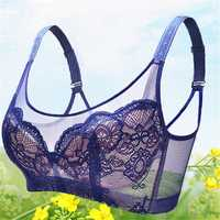 Wire Free Lace Ultra Thin Light Adjustable Bra