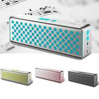 ROCK Portable Deep Bass Hands-free 3.5mm Aux NFC Wireless bluetooth Speaker with Mic for Xiaomi iPhone
