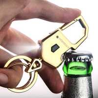 Practical Multifunctional LED Metal Keychain Bottle Opener
