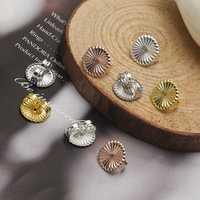 s925 4pcs Mini Earring Back Stopper Stud Sterling Silver DIY Jewelry Findings