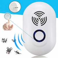 IPRee Portable Ultrasonic Mosquito Dispeller Mosquito Killer Lamp Home Camping Mouse Insect Repellet