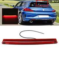 LED High Mount Brake Light 3rd Third Stop Tail Lamp White Red Dual Color for VW Scirocco MK3 09-17