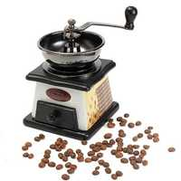 Retro Mini Wooden Manual Coffee Grinder Vintage Coffee Bean Hand Grinder Coffee Grinding Machine
