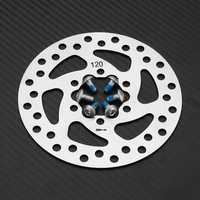 RAMBOMIL R9 140mm/120mm Bike Bicycle Brake Disc 6 Bolt Electric Bike Scooter MTB Cycling Brake Disc