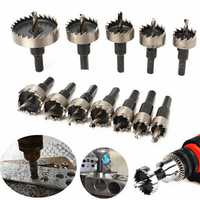 12pcs 15-50mm HSS Hole Saw Cutter HSS Drill Bits Set