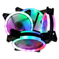 3Pin 4Pin LED RGB Cooling Fan 120mm DC 12V Brushless PC Cooler For Computer Case