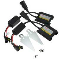Pair DC12V Slim HID Replacement Ballast Xenon Conversion Kit Universal
