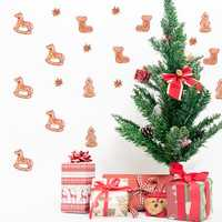 Christmas 2017 Funlife Personality Wall Stickers Christmas Decorations Christmas Socks