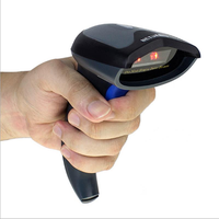 2.4GHz Wireless USB 2.0 Wired 2D Barcode Scanner For Mobile Payment Computer Screen Support Windows