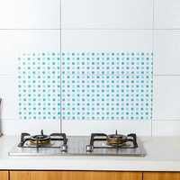KCASA KC-WS030 45 x 90cm PVC Kitchen Removable Self-adhesive Oil-proof Wall Sticker Paper Home Decor