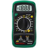 MASTECH MAS830L Mini Handheld LCD Display Digital Multimeter DC Current Tester Backlight Data Hold Continuity Diode hFE Test