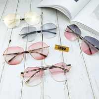 Unisex Outdoor Sun Protection Irregular Trendy Sunglasses