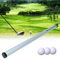 Portable Outdoor Aluminum Golf Ball Picker Sports Practice Shagger Pick-Ups Tube
