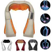 Global Vlotage 4 Buttons Upgraded Shiatsu Kneading Neck Back