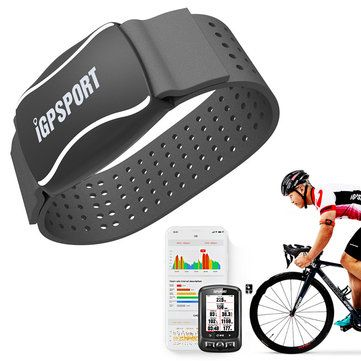 iGPSPORT HR60 Heart Rate Monitor Bracelet Electric Smart Blood Pressure Monitor Band Waterproof Outdoor Sport Fitness