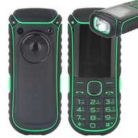 A5000+ 1.77 Inch 4400mAh OTG Flashlight Bluetooth MP3 MP4 Dual Sim Card Outdoor Rugged Phone