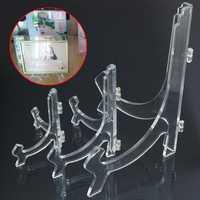 L M S Perspex Acrilico Plastica Display Photo Stand Holder Supportor Picture Frame Supporter