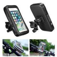 Universal Waterproof Adjustable Motorcycle Bike Bicycle Handlebar Mount Holder Bag for Smartphones