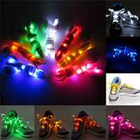 1 Pair Nylon LED Flashing Light Up Glow Shoelace