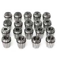19pcs ER32 2-20mm Spring Collet Collet Chuck Set for CNC Milling Lathe Tool