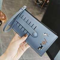 Women Cute Long Wallet Coin Purse
