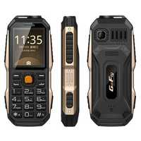 GOFLY 6800 2.0 Inch 3800mAh OTG Flashlight FM MP3 Power Bank Dual SIM Outdooors Mini Feature Phone